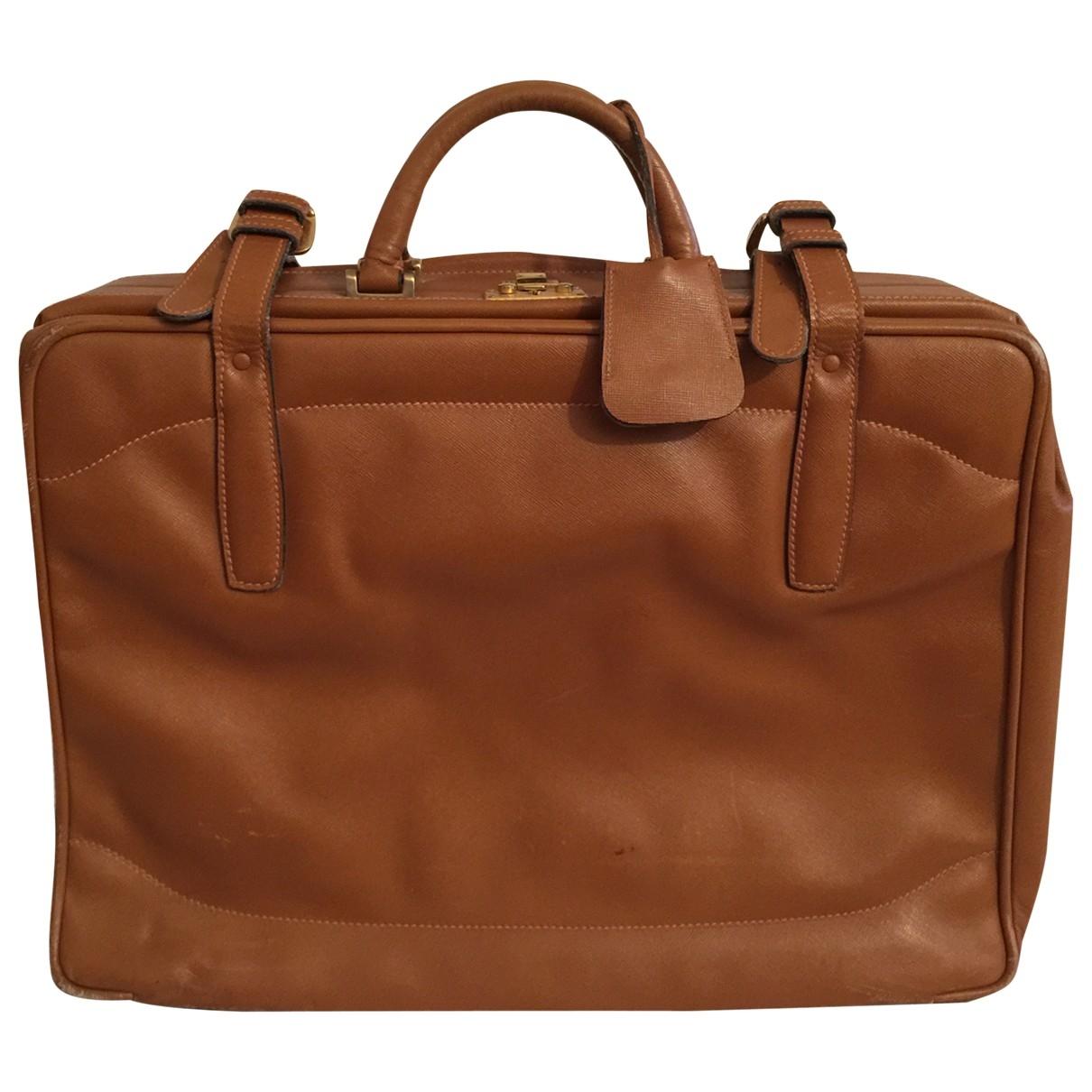 Prada \N Leather bag for Men \N