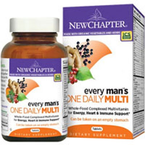 Every Man's One Daily Multi 72 TABS by New Chapter