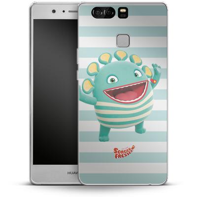 Huawei P9 Silikon Handyhuelle - Sorgenfresser Schnulli von Sorgenfresser