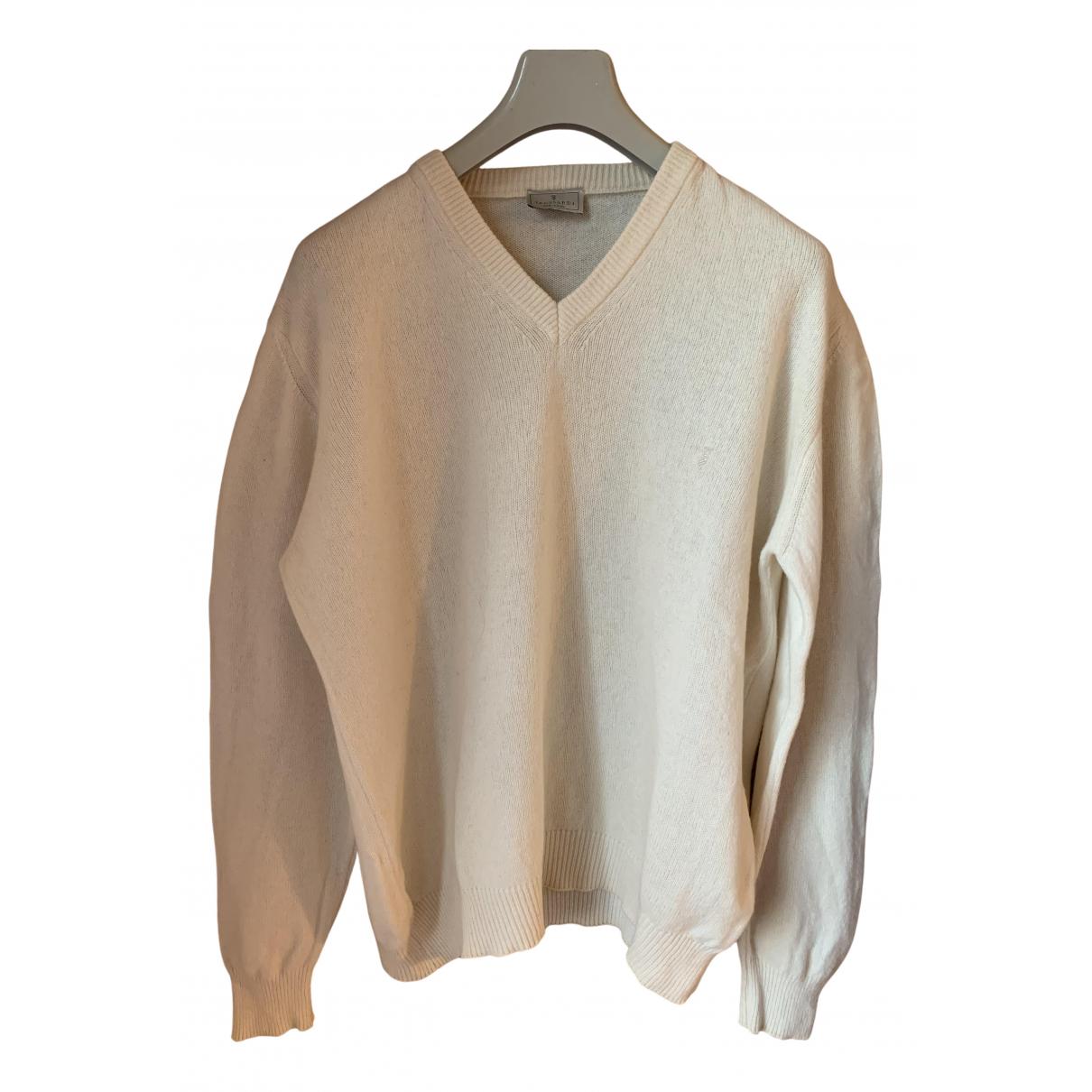 Trussardi \N Pullover.Westen.Sweatshirts  in  Beige Wolle