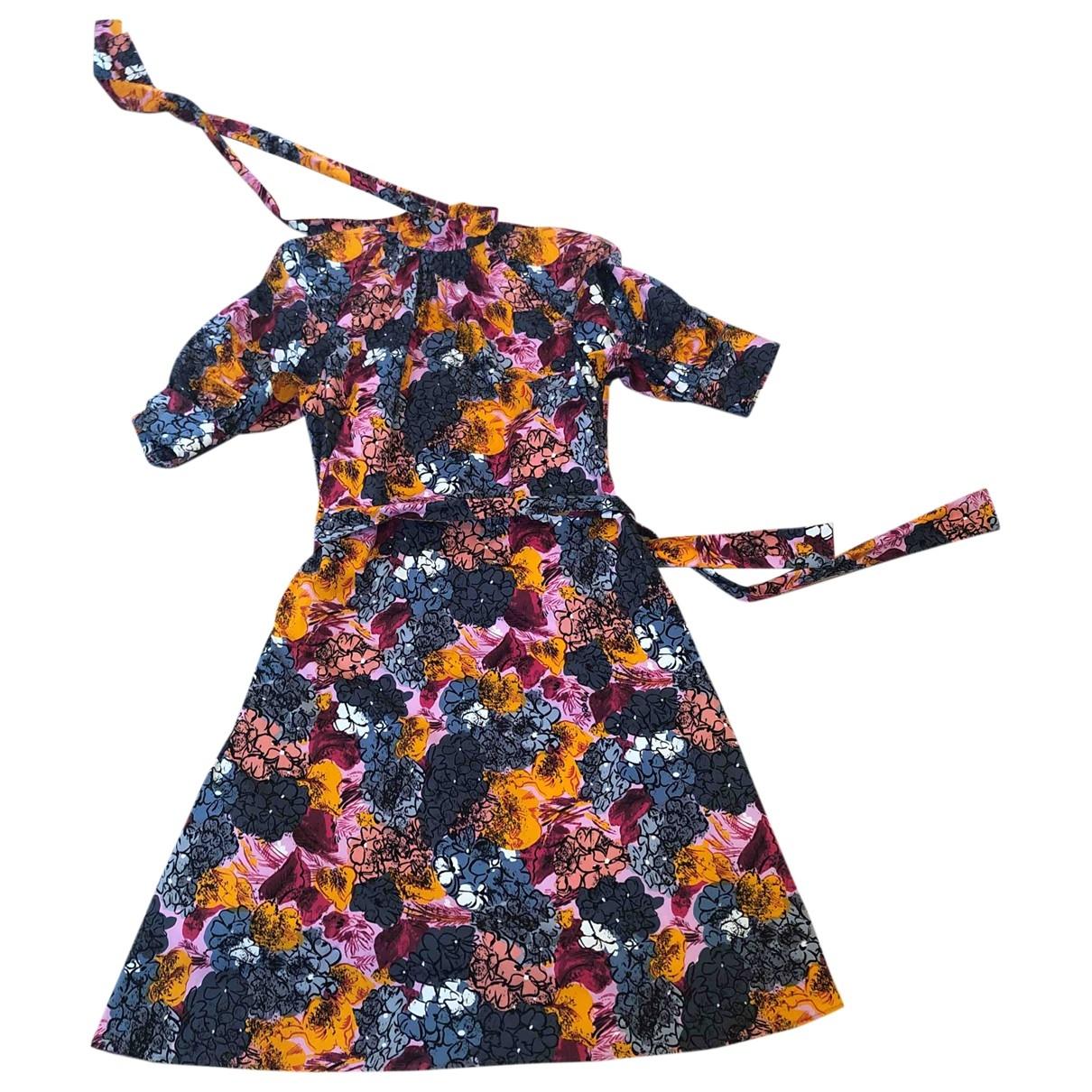 Prada \N Kleid in  Rosa Baumwolle - Elasthan