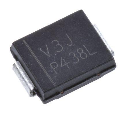 Vishay 100V 3A, Schottky Diode, 2-Pin DO-214AB VS-30BQ100-M3/9AT (5)