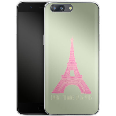 OnePlus 5 Silikon Handyhuelle - Oui Oui von Bianca Green