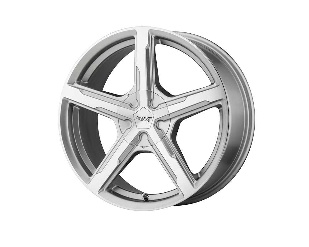 American Racing AR921 Trigger Wheel 15x7 4x4x100/4x114.3 +35mm Silver Machined