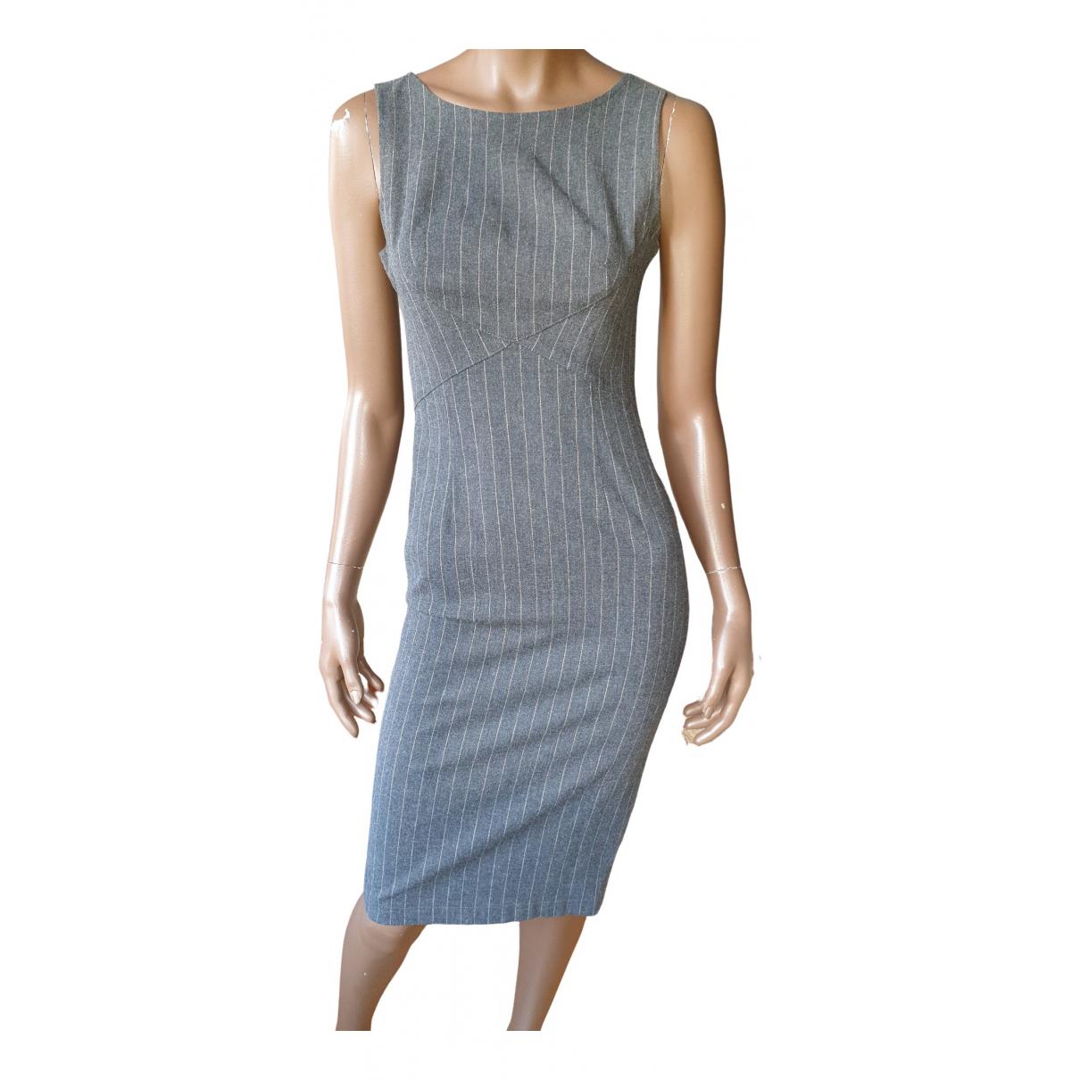 Moschino Cheap And Chic \N Kleid in  Grau Viskose