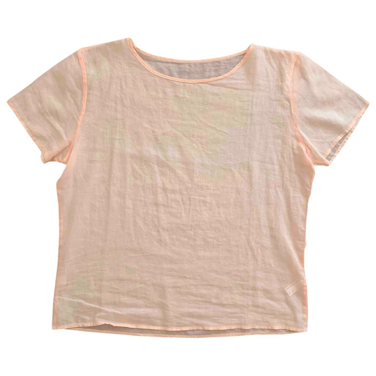 American Apparel - Top   pour femme en coton - rose