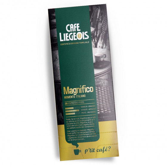 "Kaffee-Pods Cafe Liegeois ""Magnifico"", 25 Stk."