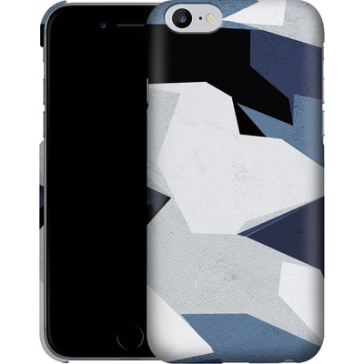 Apple iPhone 6s Plus Smartphone Huelle - Geometric Camo Blue von caseable Designs