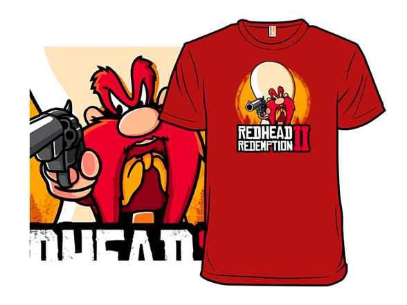 Red Head Redemption T Shirt