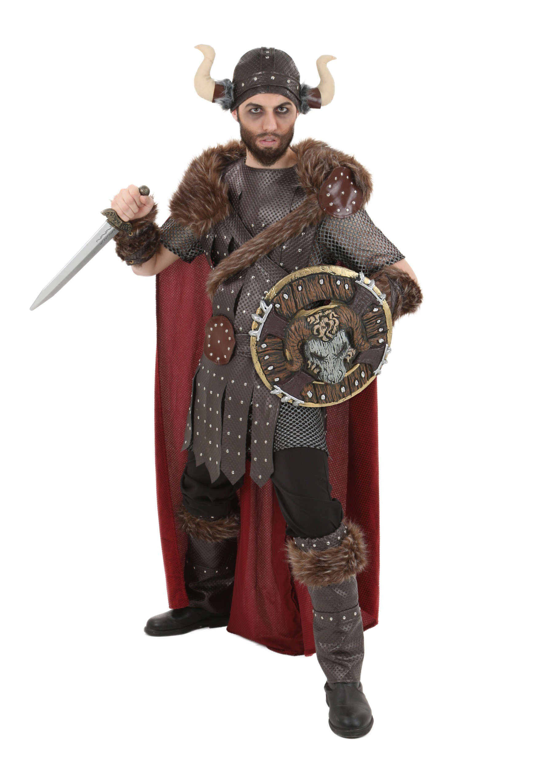 Men's Viking Warrior Costume