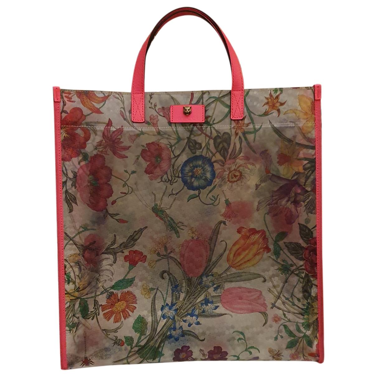 Gucci \N Handtasche in  Bunt Kunststoff