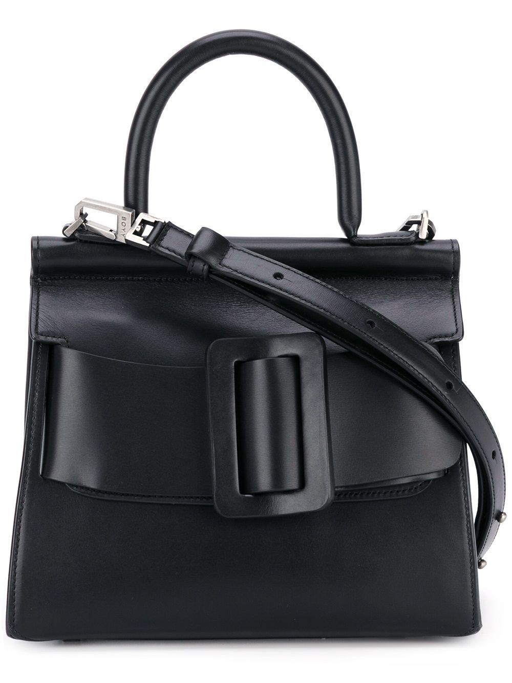 Karl Leather Handbag