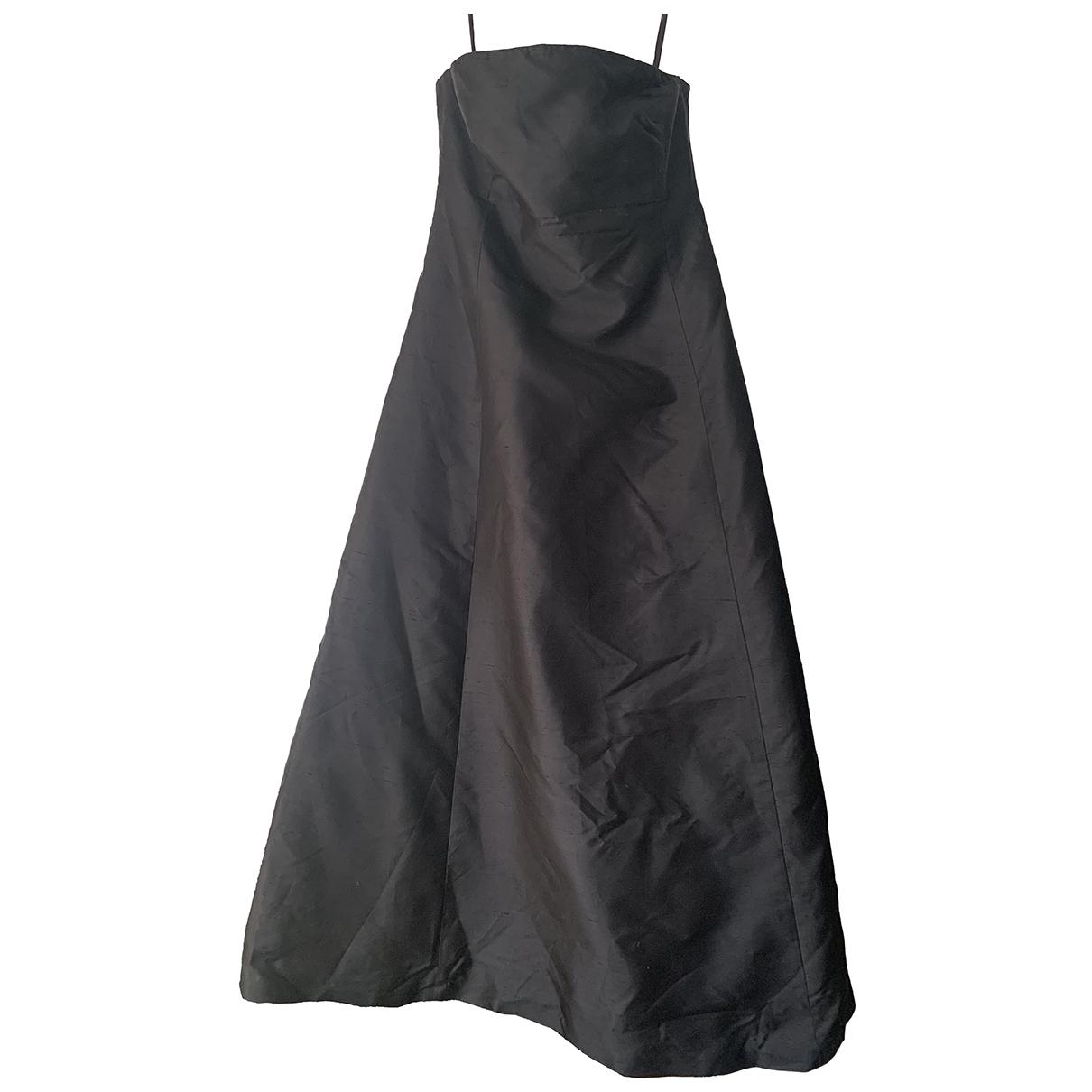 Lauren Ralph Lauren \N Kleid in  Schwarz Seide