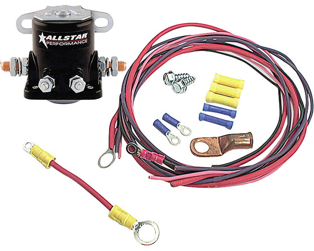 Allstar Performance ALL76202 Solenoid And Wiring Kit  ALL76202