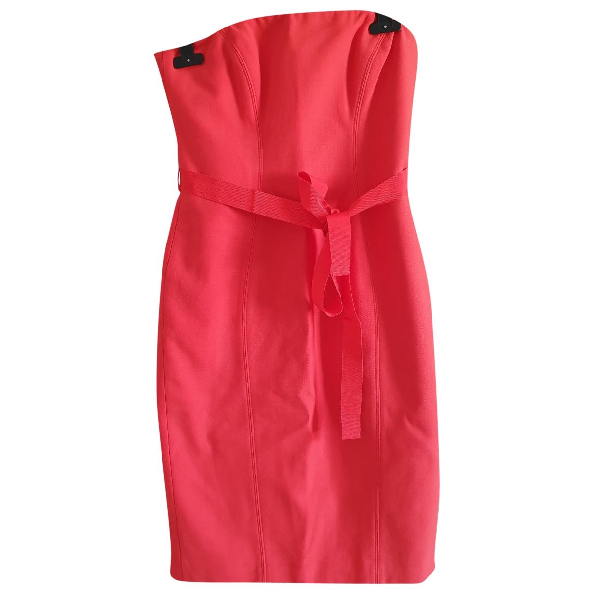 Paule Ka \N Orange Cotton dress for Women 36 FR