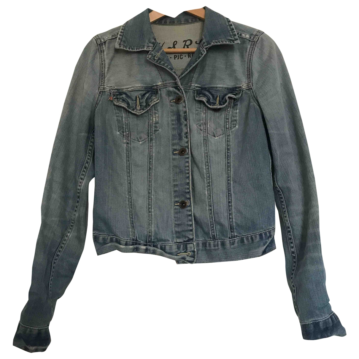 Polo Ralph Lauren \N Jacke in  Blau Denim - Jeans
