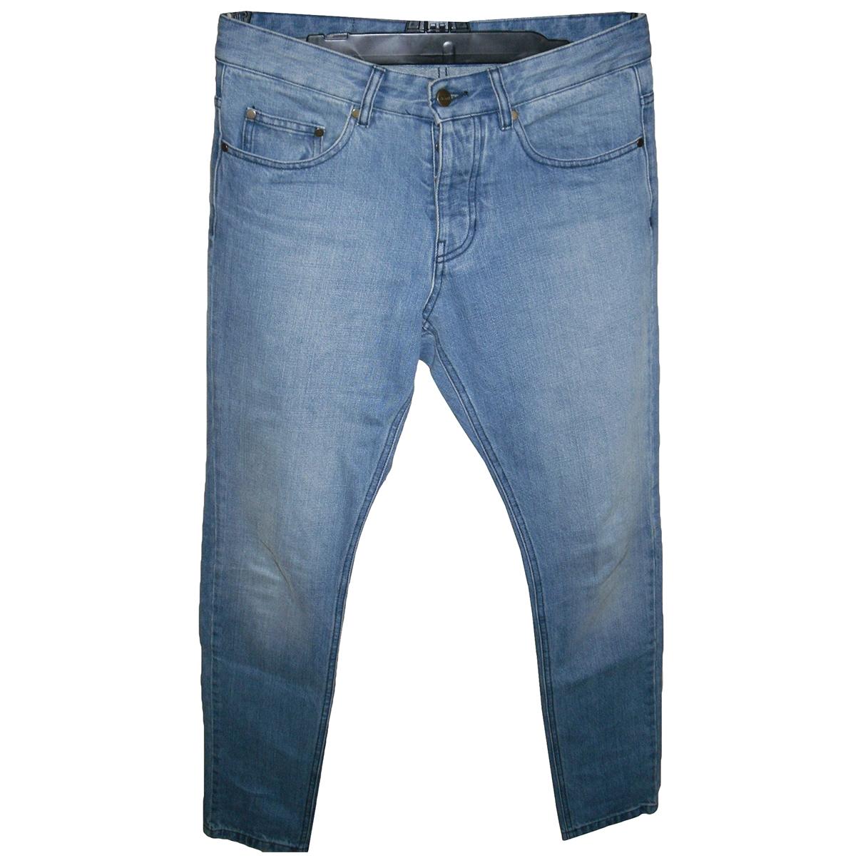 Ami \N Blue Cotton Jeans for Men 27 US