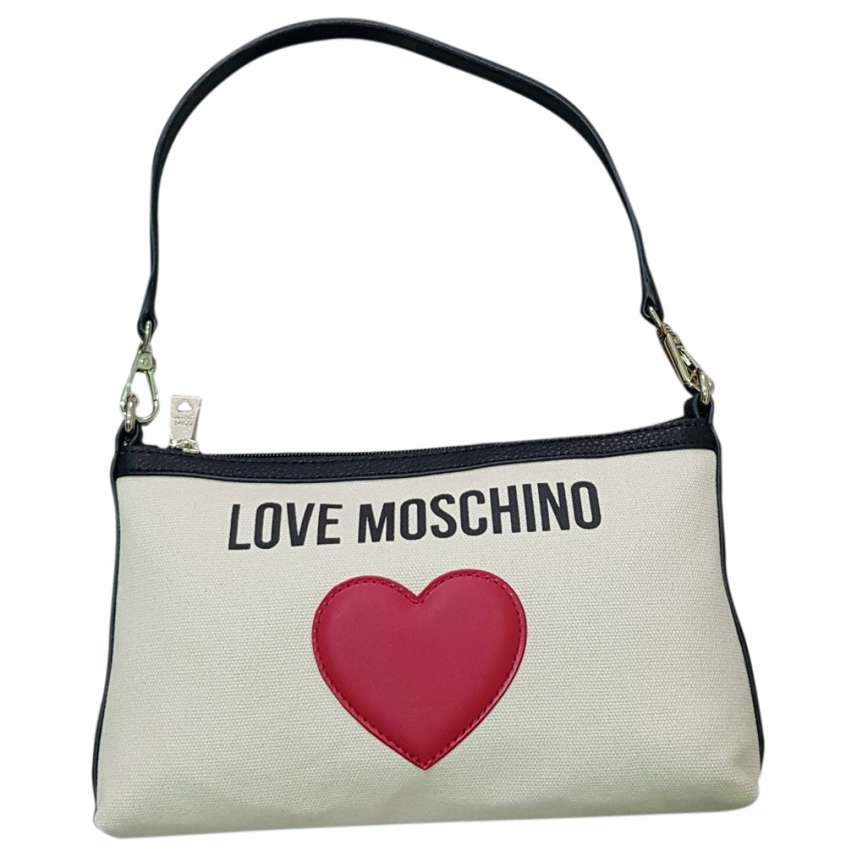 Moschino Love \N Beige Cloth handbag for Women \N