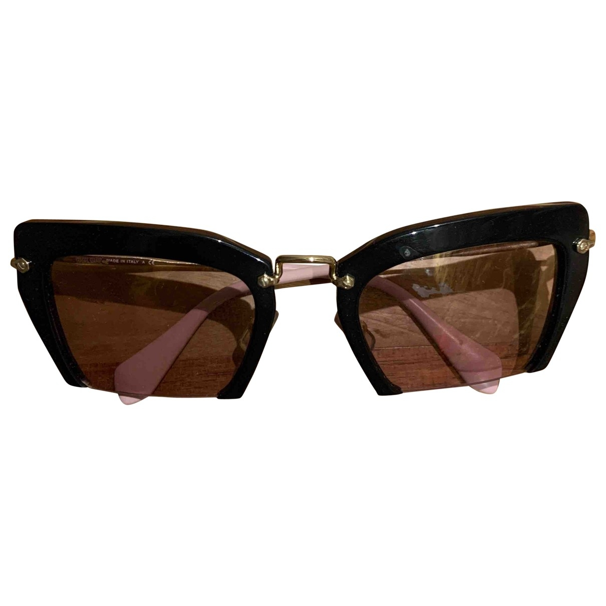 Miu Miu \N Sonnenbrillen in  Rosa Kunststoff