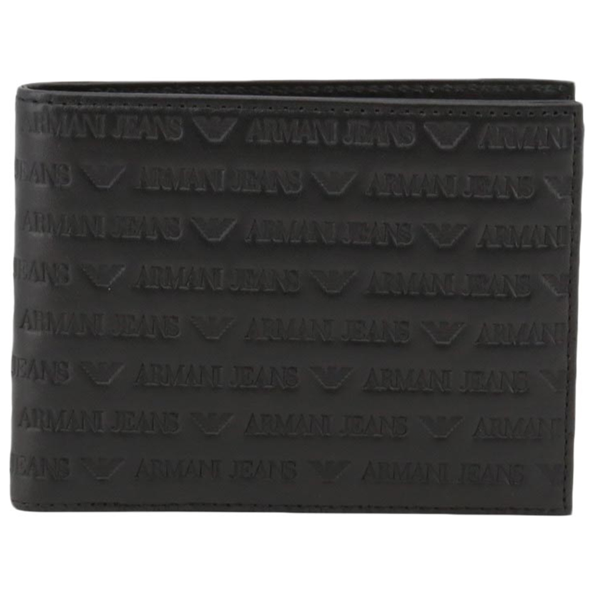 Armani Jeans \N Kleinlederwaren in  Schwarz Leder