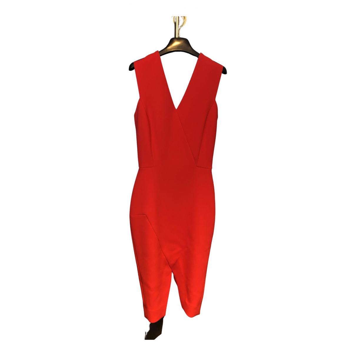 Victoria Beckham \N Kleid in  Rot Polyester