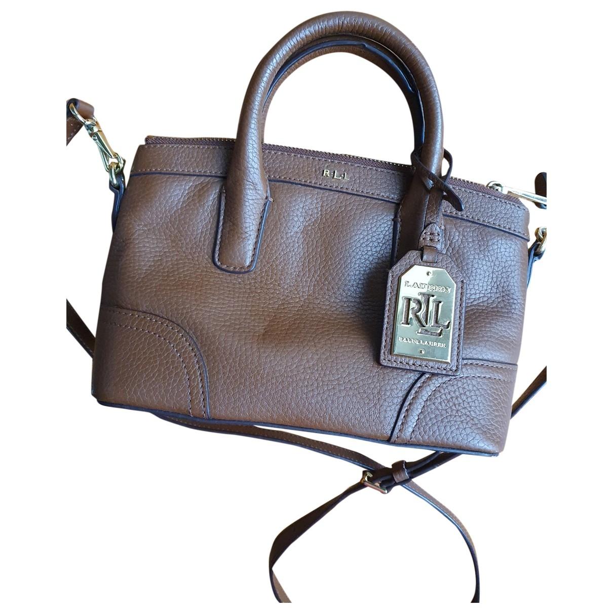 Lauren Ralph Lauren \N Brown Leather handbag for Women \N