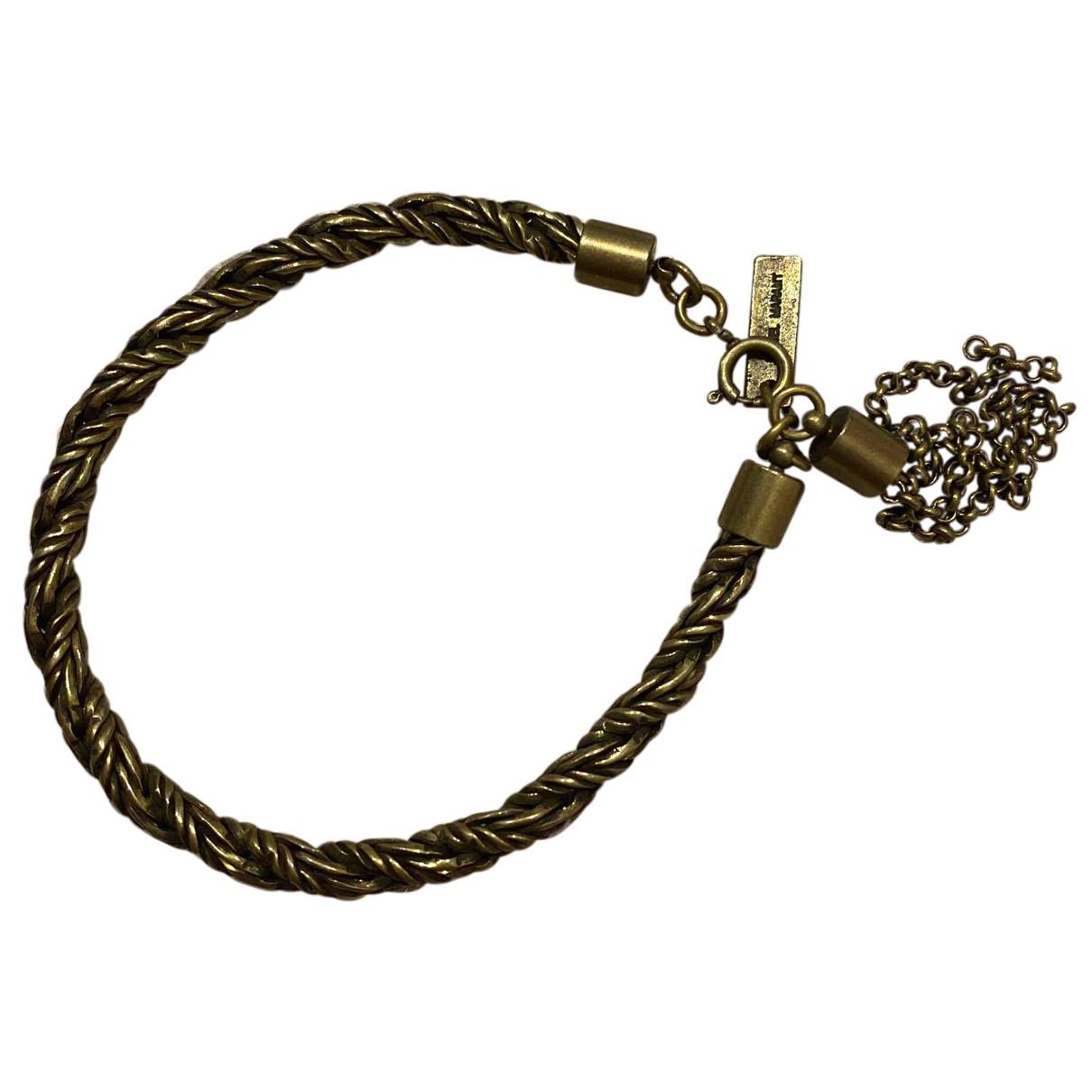Isabel Marant - Bracelet   pour femme en plaque or - dore