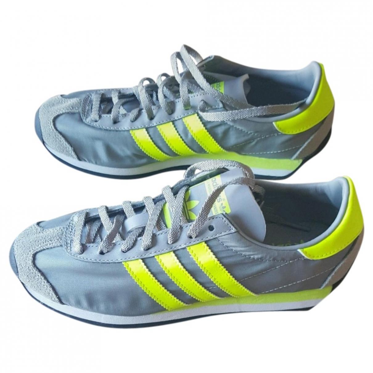 Adidas \N Sneakers in  Grau Kautschuk