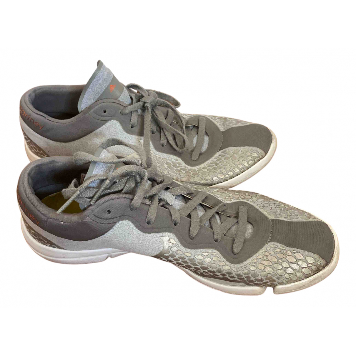 Stella Mccartney Pour Adidas \N Sneakers in  Silber Polyester