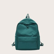 Large Capacity Pocket Front Backpack