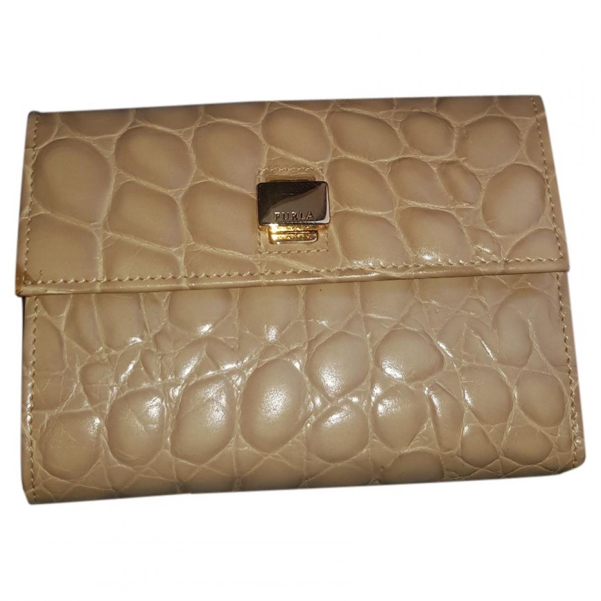 Furla \N Leather Clutch bag for Women \N