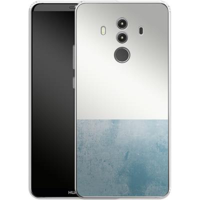Huawei Mate 10 Pro Silikon Handyhuelle - Colour Block Blue von caseable Designs