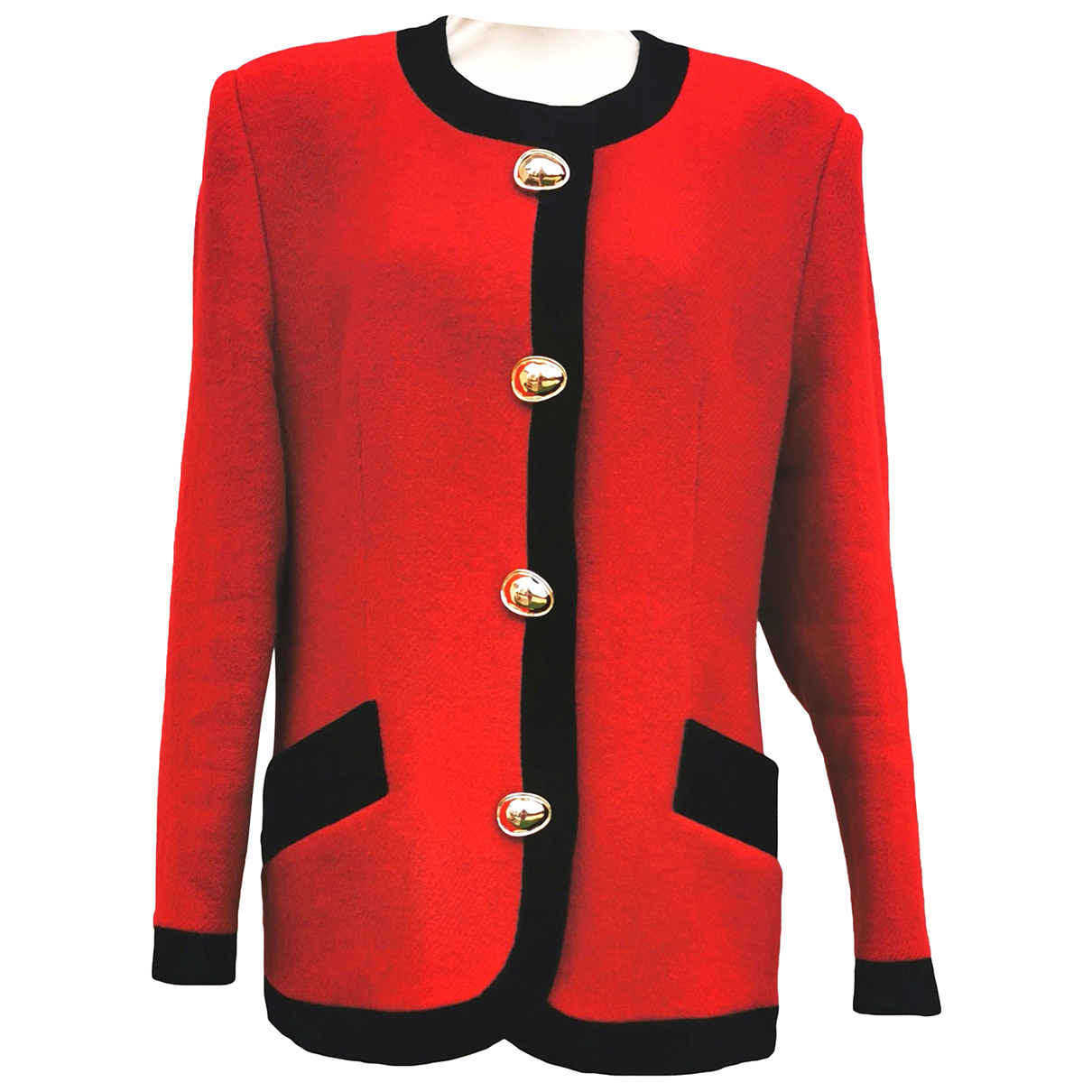 Givenchy N Red Wool jacket for Women 12 UK