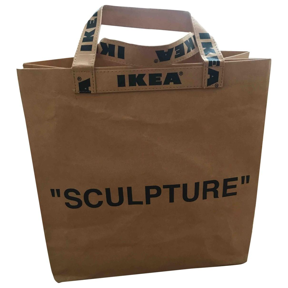 Virgil Abloh X Ikea \N Beige handbag for Women \N