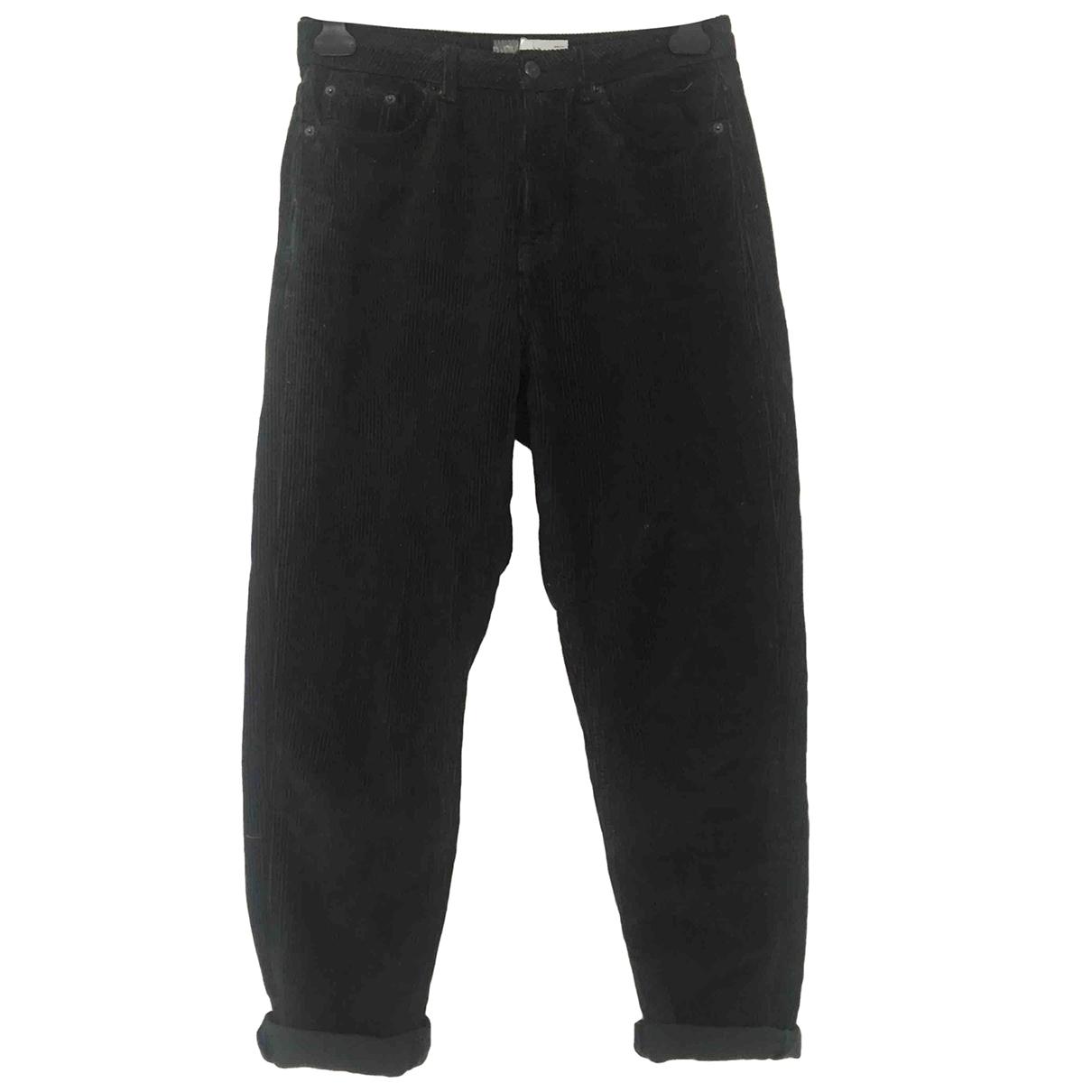 tophop \N Green Denim - Jeans Trousers for Women 8 UK