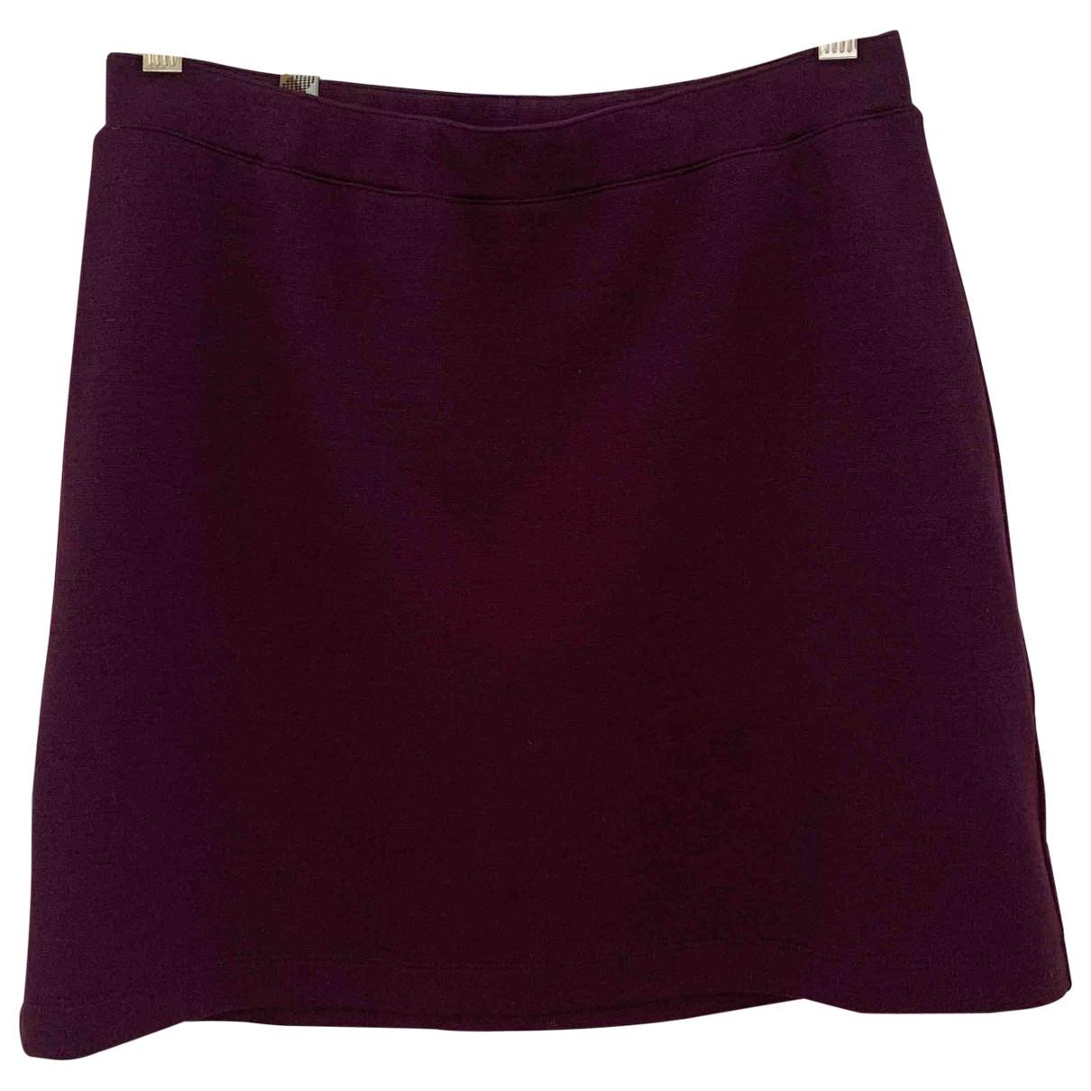 Missoni \N Purple Wool skirt for Women 42 IT