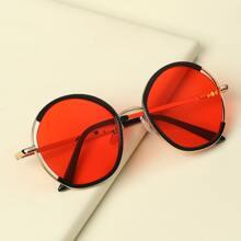 Kleinkind Sonnenbrille mit rundem Rahmen