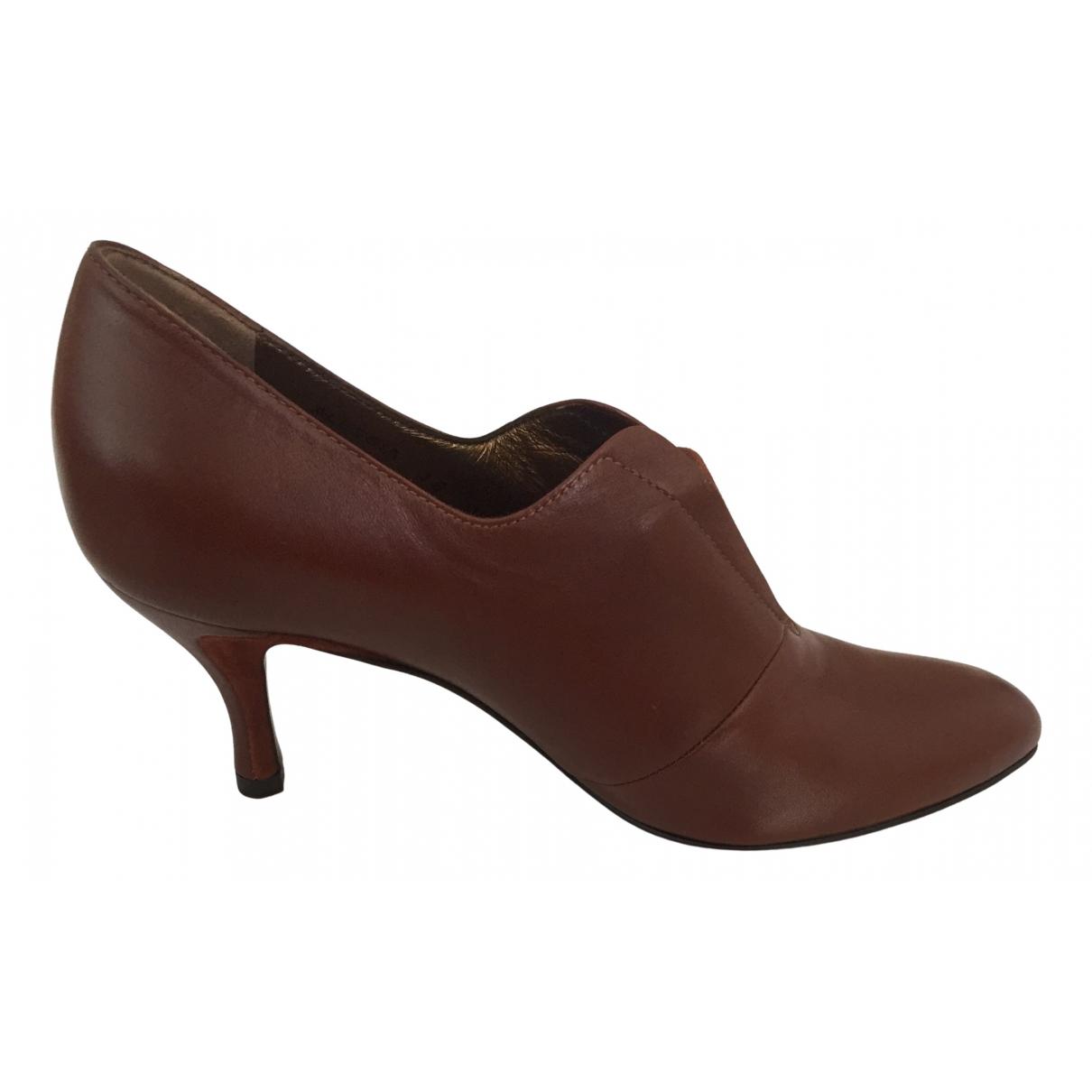 Bally \N Camel Leather Heels for Women 36 EU