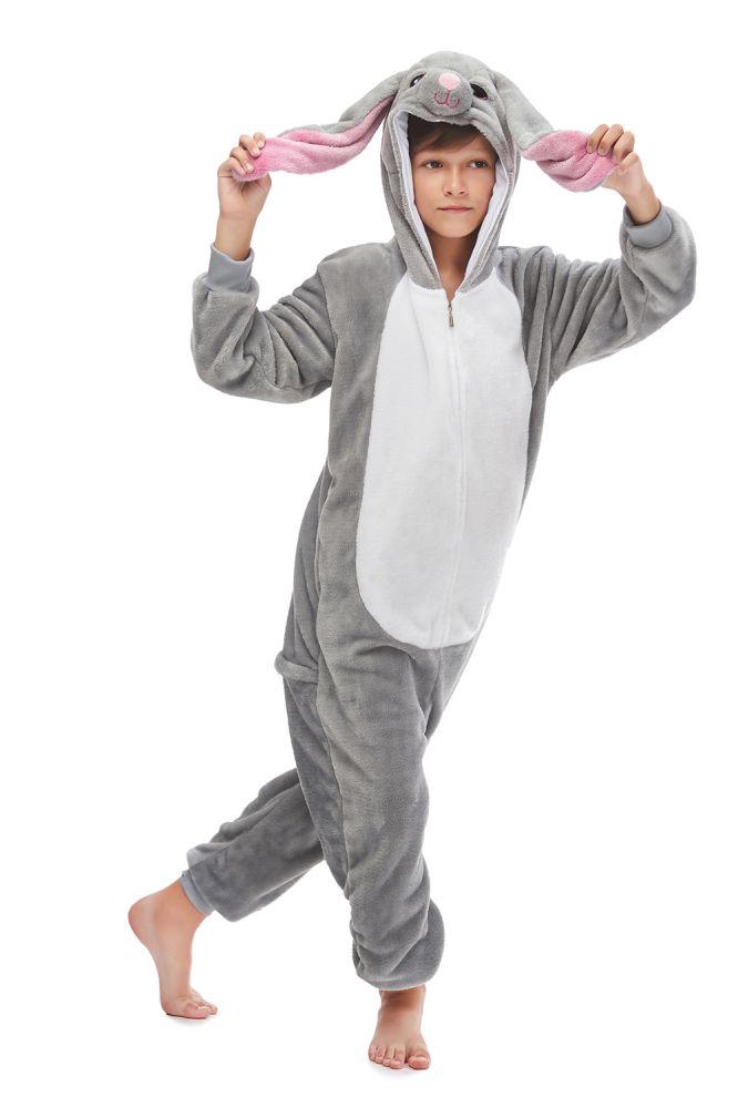 Kid's Kugurumi Onesie Cartoon Animal Mashimaro Cosplay Costume Flannel Pajama One Piece Boy Girl Child Pyjama Sleep Suit