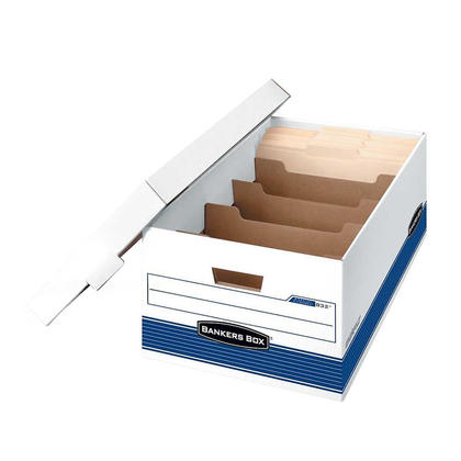Bankers Box® Stor/File™ DividerBox™ Storage Box - 5 compartments, Legal, 15
