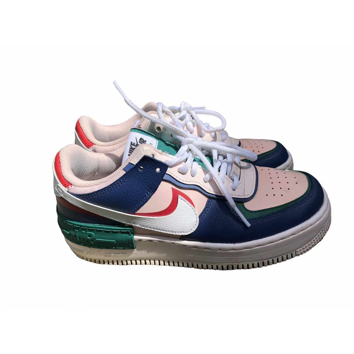 Nike Air Force 1 Multicolour Leather Trainers for Women 39 EU