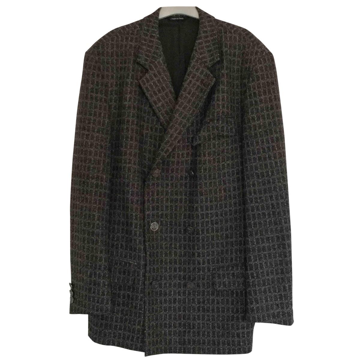 Versus \N Anthracite Wool jacket  for Men L