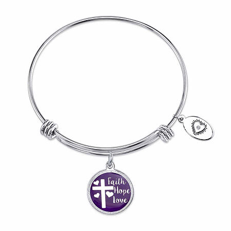 Footnotes 8 1/4 Inch Bangle Bracelet, One Size , No Color Family