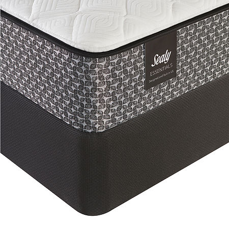 Sealy Beaumont Firm Mattress + Box Spring, One Size , White