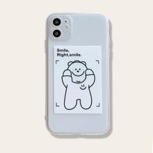 1 Stueck iPhone Schutzhuelle mit Grafik