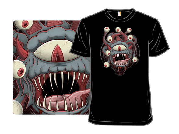 Summoning Of The Beholder T Shirt