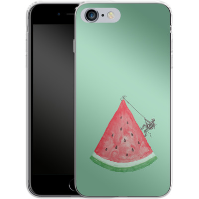 Apple iPhone 6s Plus Silikon Handyhuelle - Summer Climb von Enkel Dika