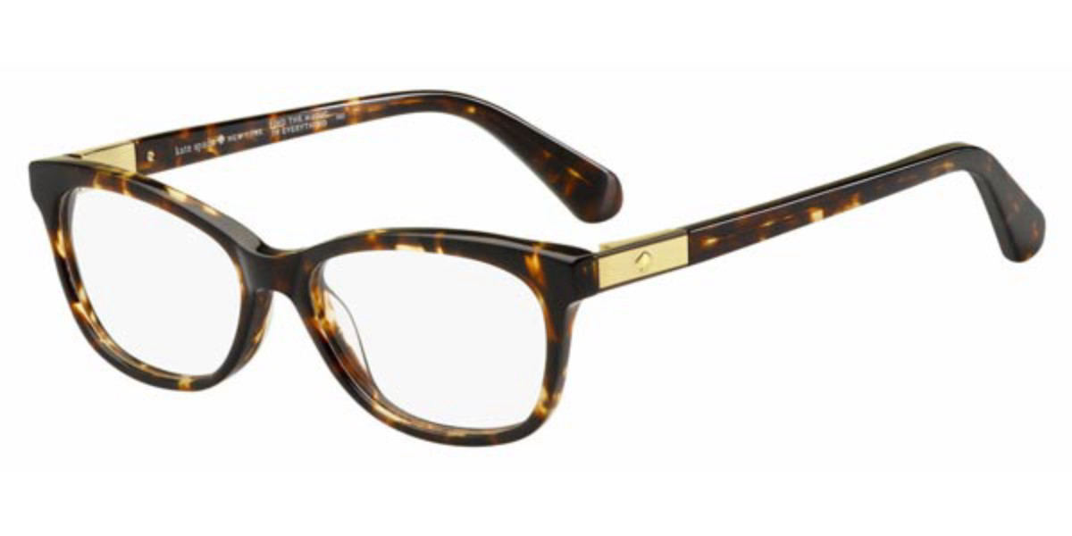 Kate Spade Amelinda 086 Women's Glasses Tortoise Size 50 - Free Lenses - HSA/FSA Insurance - Blue Light Block Available
