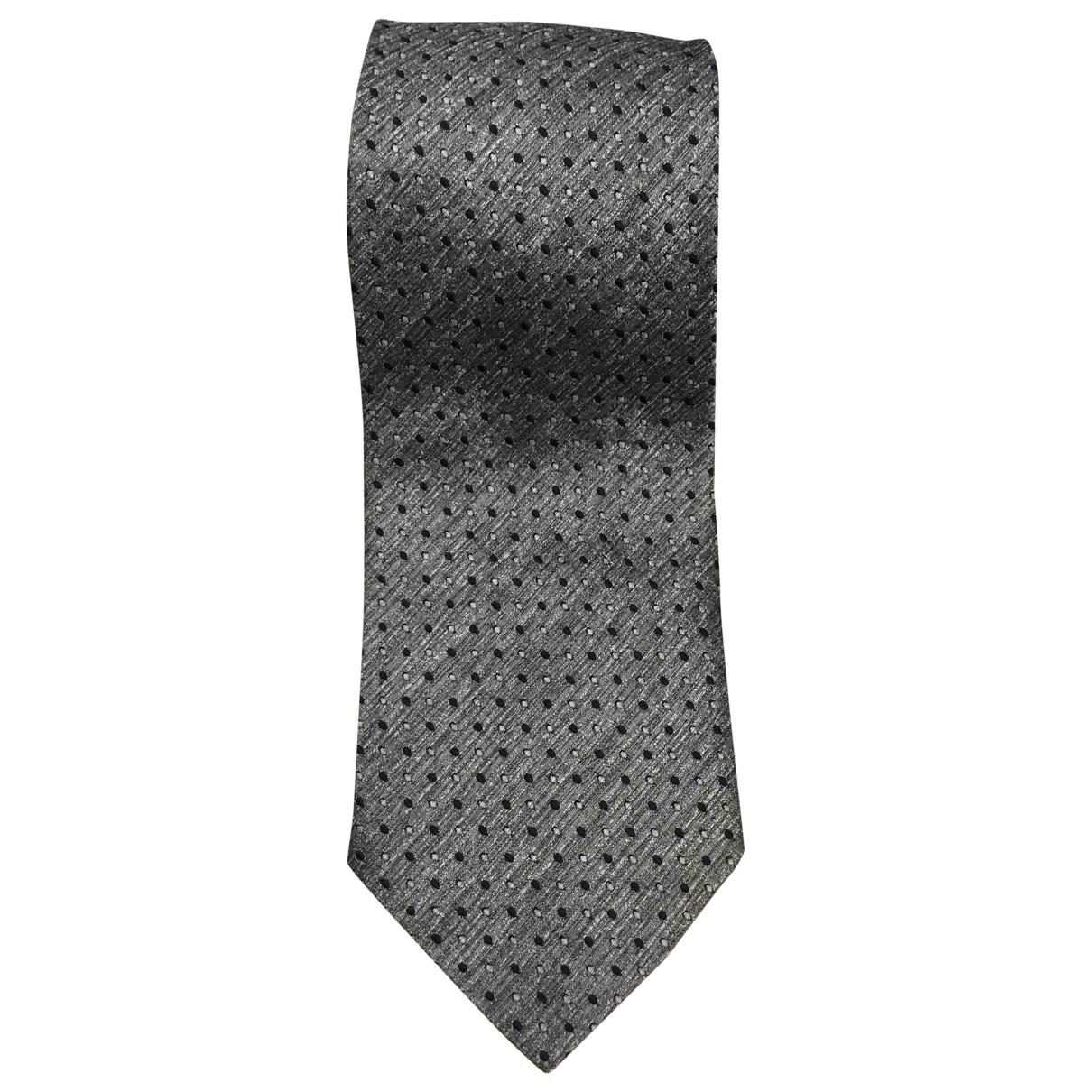 Boss \N Krawatten in  Metallic Seide