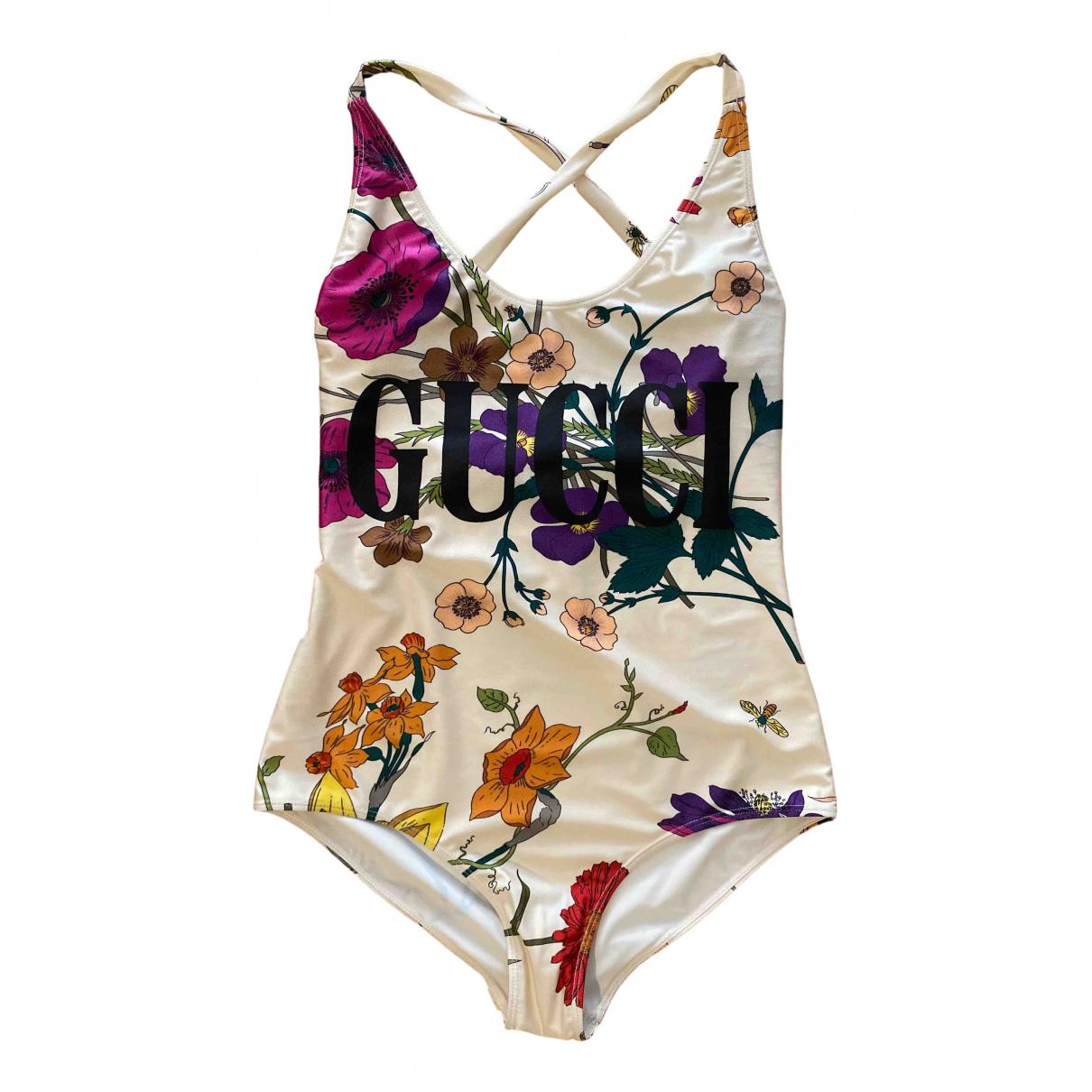Gucci - Bain   pour femme en lycra - multicolore